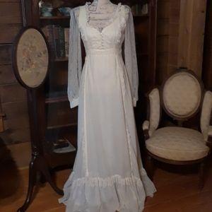Gunne Sax vintage prairie-style dress